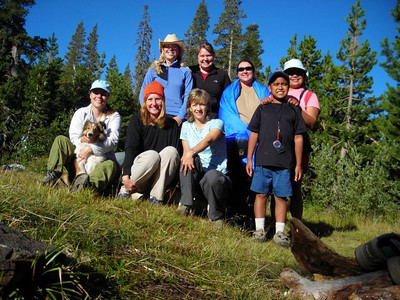 Group photo on Sunday morning  Top Row: Me, Karen, Tanya, Maria, Bottom row: Cindy, Gavin, Theresa, Michelle, and Francis