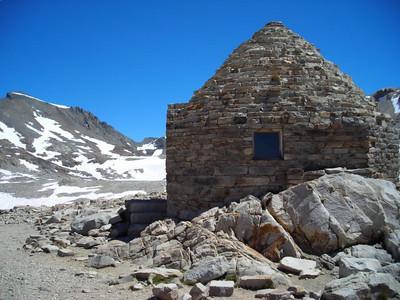 Backside of muir hut