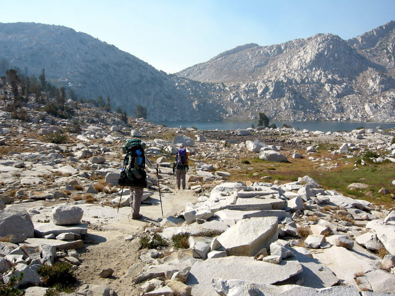 Approaching Chief Lake