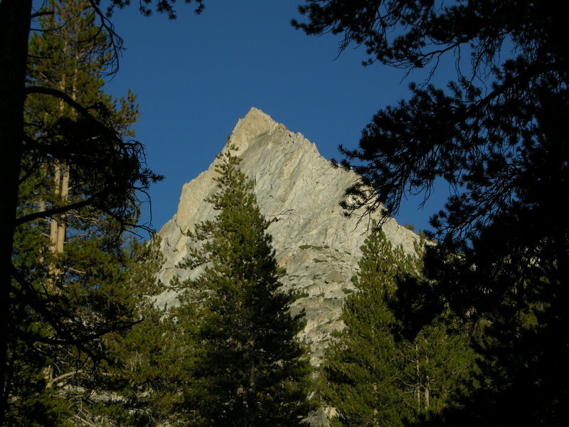 Unnamed peak just north of Silver Pass