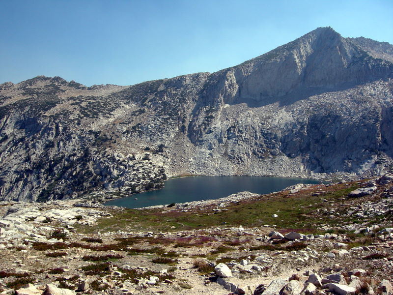 Warrior Lake view from Silver Pass