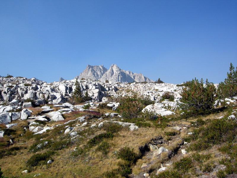 Graveyard Peak in the distance