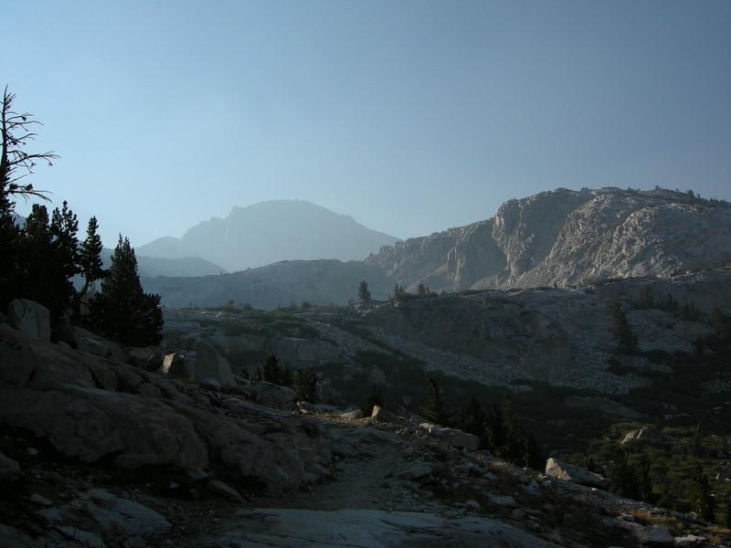 A smoky view