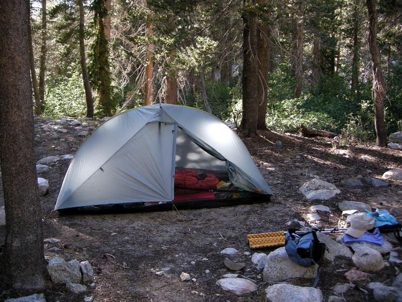 My Campsite in Cascade Valley