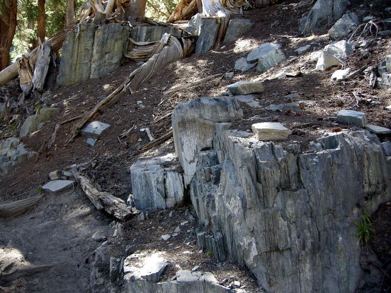 Rock shapes near Duck Creek