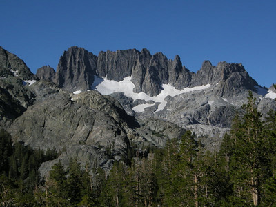 But new views soon take their place.  There is rarely a lack of scenery on the JMT