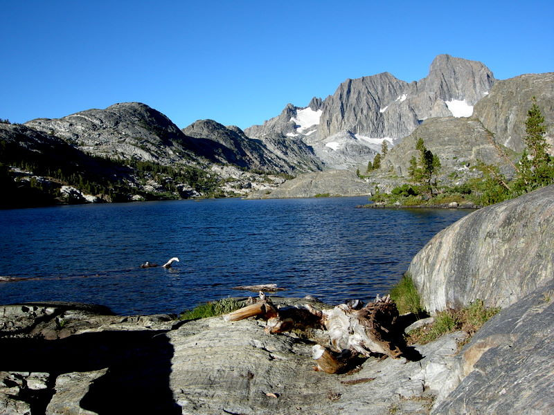 Garnet Lake and Ritter/Banner<br /> <br /> Nope, not bored of the view yet!