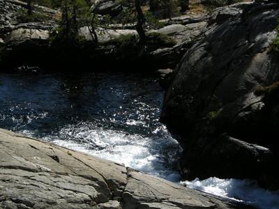 More of Shadow Creek  No camping allowed along this creek or at Shadow Lake