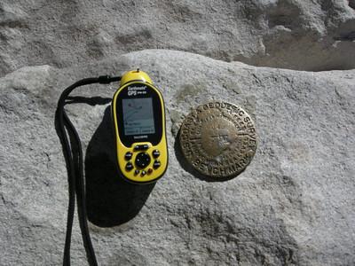 My GPS on the summit