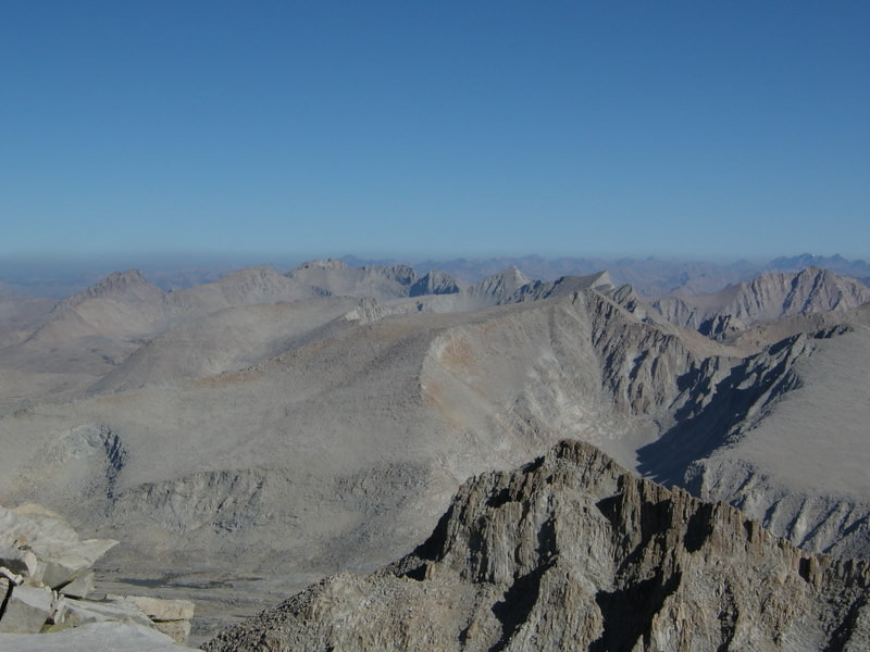 Mt Whitney Summit views