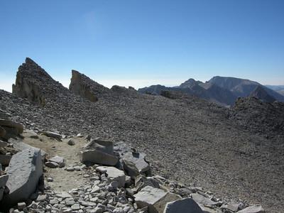 Keeler Needle and the ridge