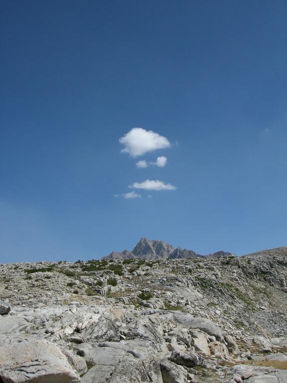 Cloud over Mt Humphreys