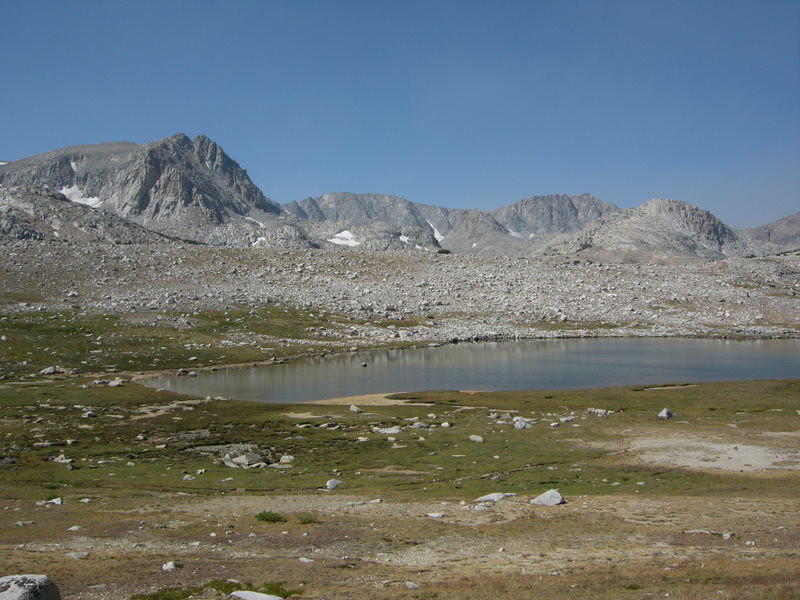 Summit Lake<br /> <br /> I had almost come up here to camp the night before, but I'm glad I didn't - it was too windy