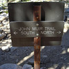 Here it is!<br /> <br /> We turn north to head up the John muir Trail and over Glen Pass.