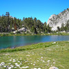 More unnamed lake<br /> <br /> We're getting close to the intersection with the John Muir Trail!