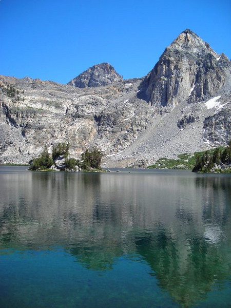 Rae Lakes and Painted lady