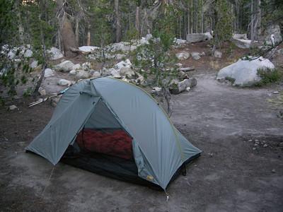 Dustiest campsite ever.