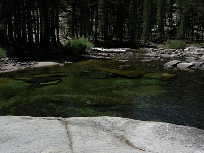 A perfect swimming hole along Bear Creek