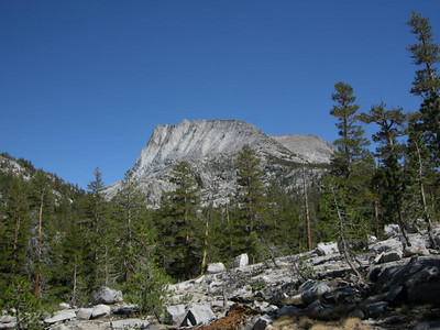 At the end of Bear Creek Meadows