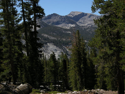 Views during climb to Bear Ridge