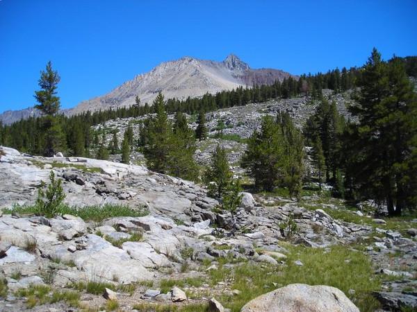 Split Mountain comes into view
