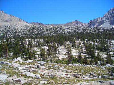 Upper Basin views.