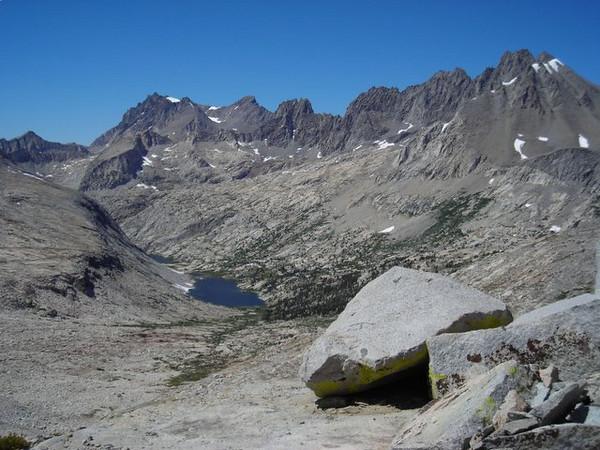 Dissappointment Peak, behind Palisade Lakes.