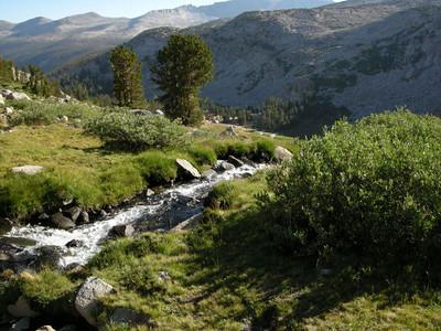 Cascade below Donohue Pass