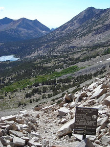 And now we're in King's Canyon National Park  that was a short visit to the John Muir wilderness!