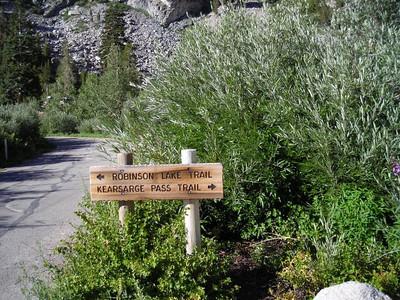 Kearsarge Pass - let's go!