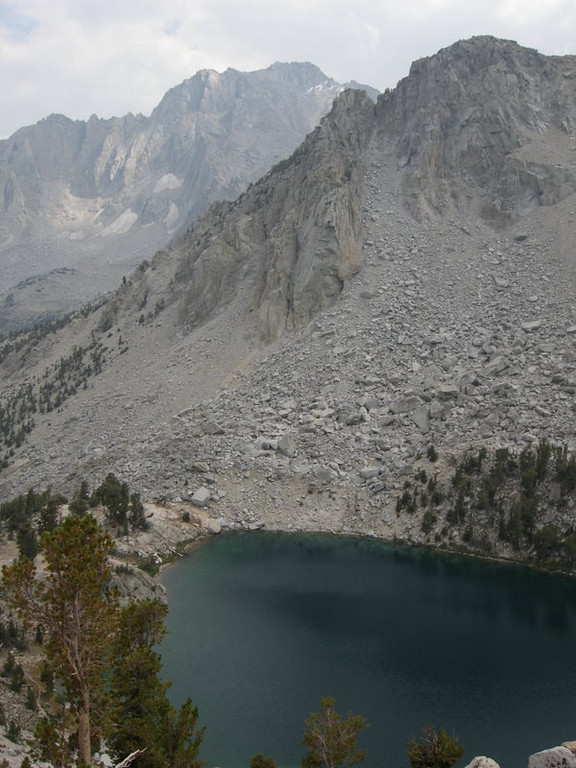 Heart Lake with University Peak