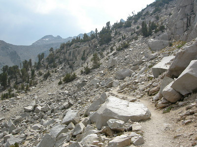 Typical southern sierra trail