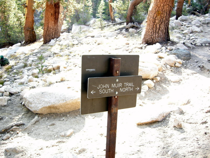 Back on the John Muir Trail! Yaaay!