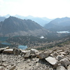 Kearsarge Lakes (and more smoke)