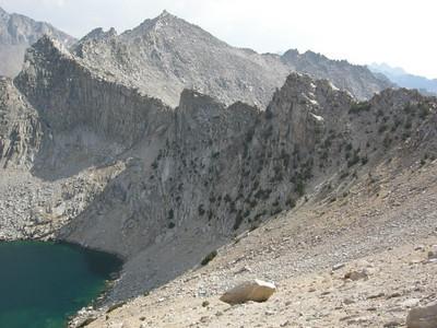 The ridge that runs South of Kearsarge pass