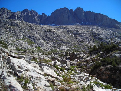 Disappointment Peak  Looking back toward Disappointment Peak (hmm...why is it so disappointing?)
