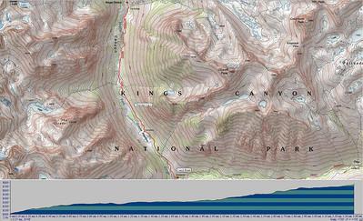 Leg 2 - up LeConte canyon