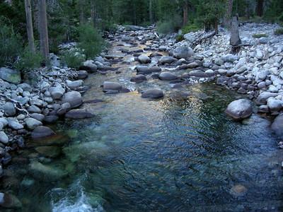 Morning colors on Piute Creek