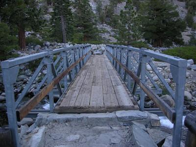 The Piute Creek Bridge