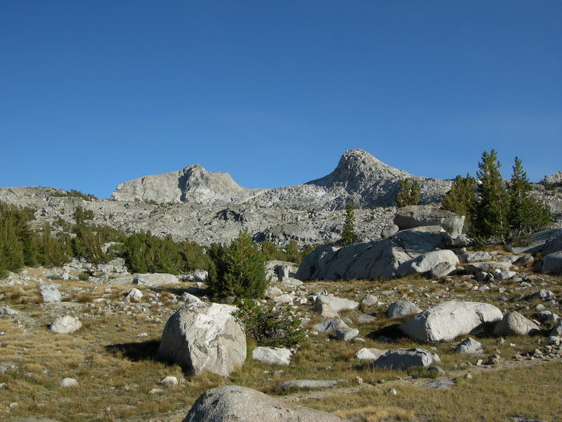 Muriel Peak from Camp