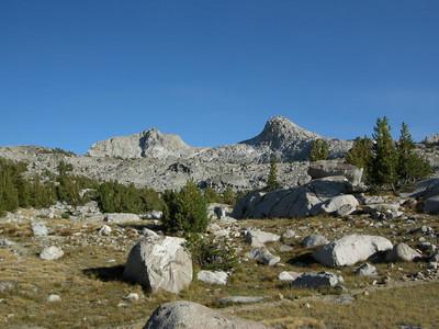 Muriel Peak from Camp