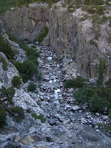 Looking down on the river from the same spot that the previous photo was taken  Piute Canyon was simply stunning - but quite a climb, especially at this beginning stretch!