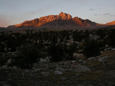 Humpreys basin with Mt Humphreys