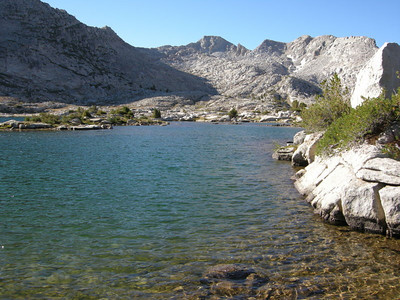 Marie Lake, just below Selden Pass