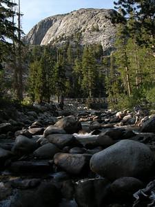 Piute Creek and the bridge