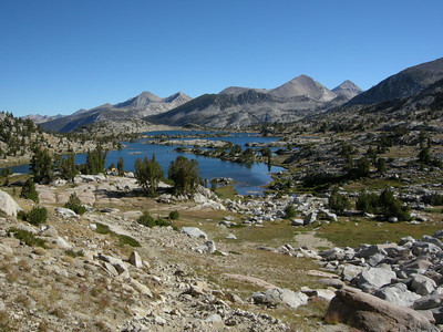 Marie Lake view from just below Selden pass