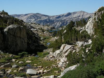 Meadows above Heart Lake