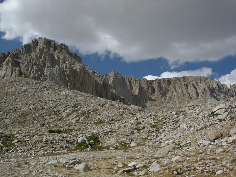 Ridge of Mt Hale