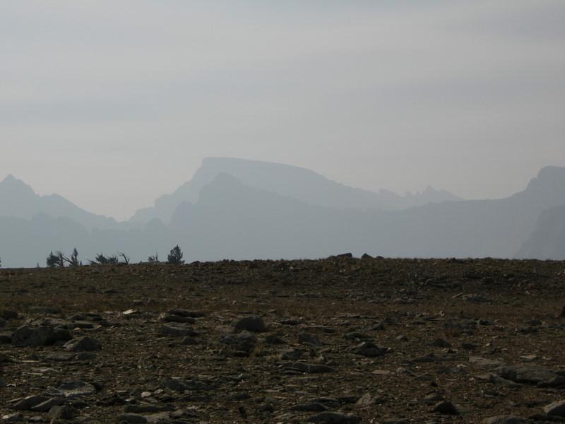 Zoom on Mt Whitney