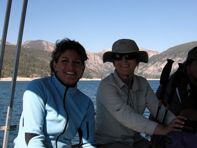 Back on the boat  Anna Marie and Mary
